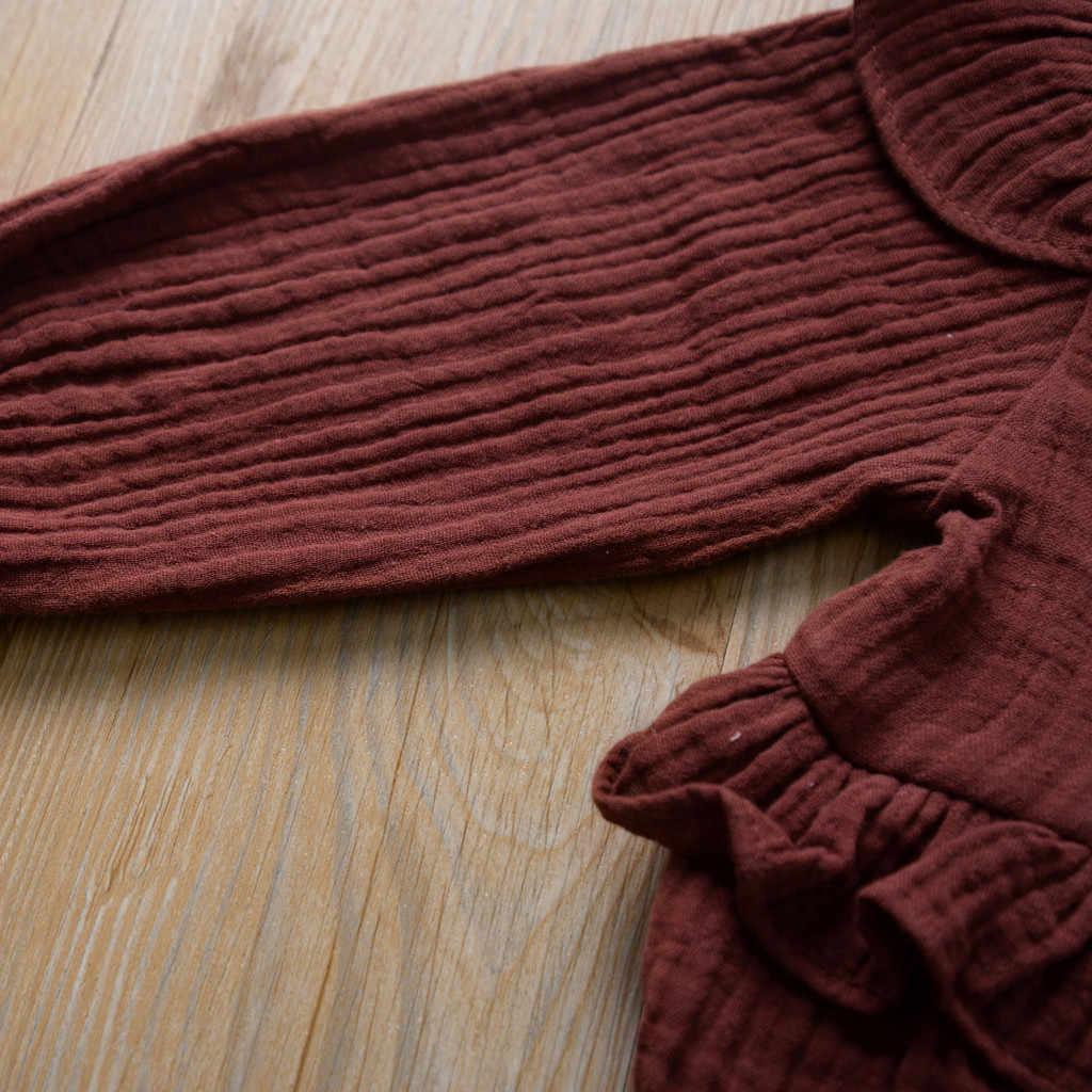 ลูกไม้เด็กแรกเกิดเด็กวัยหัดเดินเด็กทารก Rompers ฤดูหนาวเด็กวัยหัดเดินเด็กทารกแรกเกิดทารกแรกเกิดดอกไม้ลูกไม้ Romper Jumpsuit Outfits