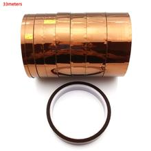цена на High Temperature Heat BGA kapton tape Thermal Polyimide Adhesive Insulating Tape Heat Resistant Insulation and Antistatic Tape