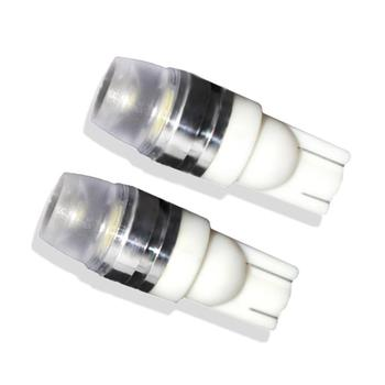 2021 2pcs White LED Width Lamp Super Bright Interior For License Plate Reading Lamp T10 5730 Width Lamp -SK98 Decoding Function image