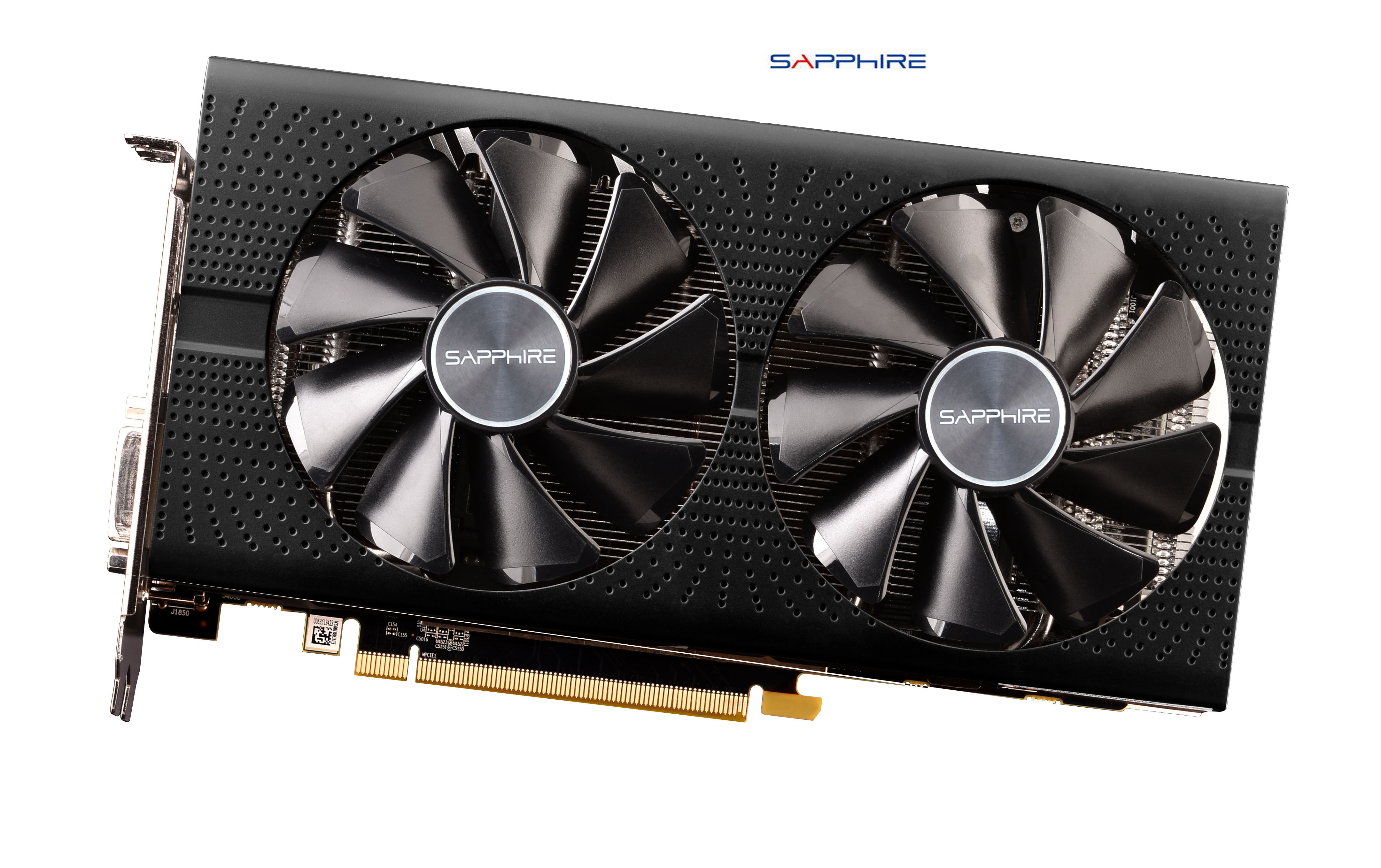 Used,SAPPHIRE Video Card RX 580 4GB 256Bit GDDR5 Graphics Cards For AMD RX 500 Series VGA Cards RX580 (2048 Version)
