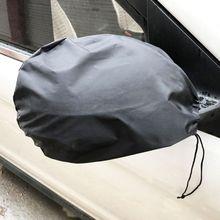 1 пара автомобильных зеркал заднего вида, защита от мороза, защита от льда, водонепроницаемый солнцезащитный козырек, боковое зеркало, снежное покрытие, автостайлинг