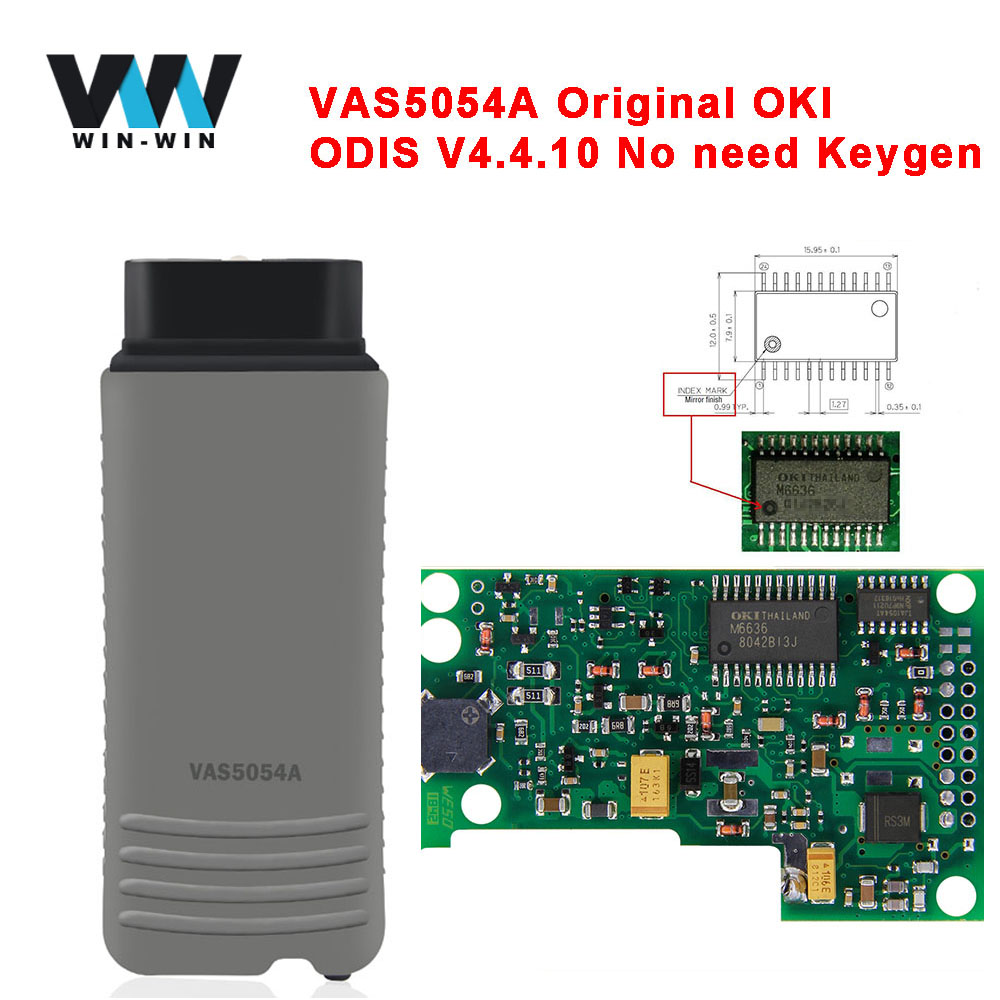 Original VAS 5054A ODIS V4.4.10 Full M6636 OKI Chip VAS5054A ODIS 4.3.3 AMB2300 for UDS Protocols OBD OBD2 Diagnostic Tool-in Считыватели кодов и сканирующие инструменты from Автомобили и мотоциклы