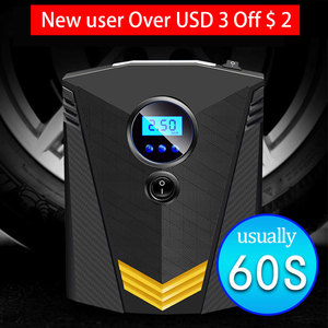 EAFC Portable 150PSI Car Tire Inflator Digital Screen Air Compressor Pump with LED Light DC12V Pump for Car Motorcycle(China)