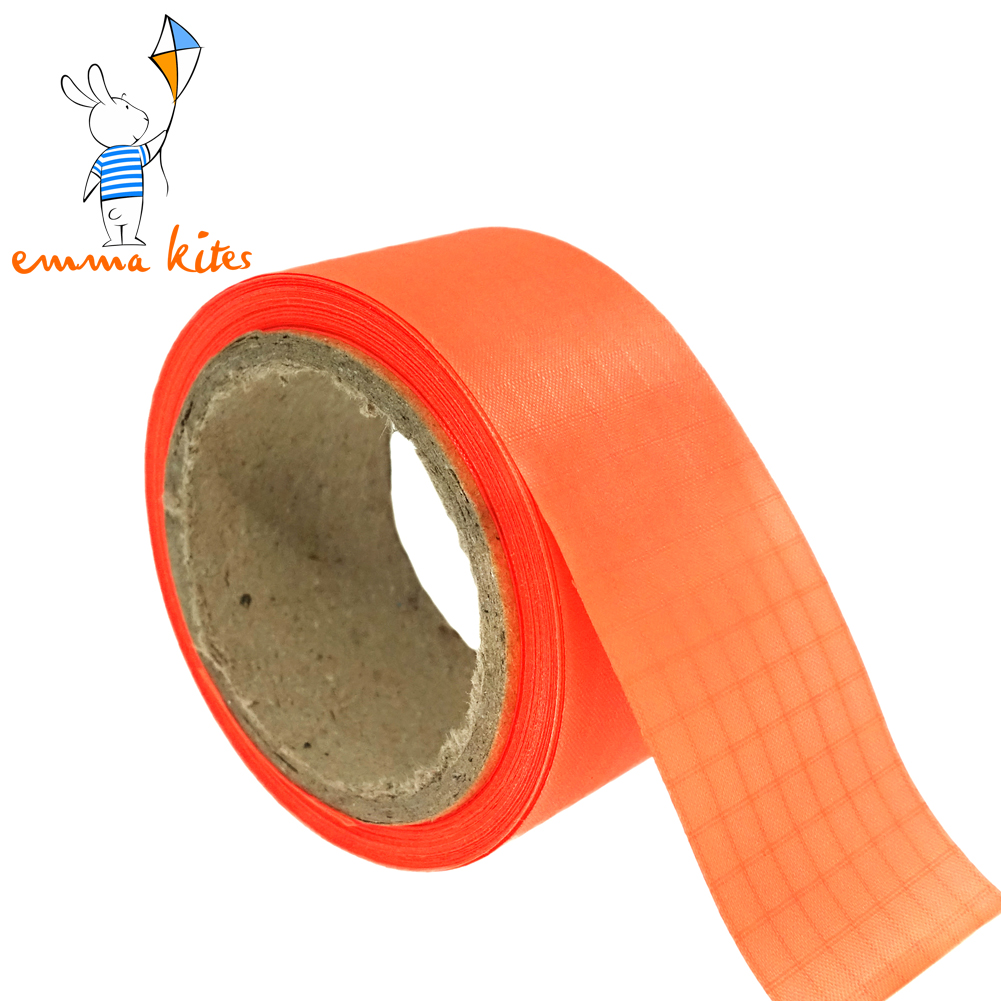 1in X 10 Yards Ripstop Nylon Tape Non-Adhesive For Making Kite Tail Sewing Edge Binding DIY Cloth Projects