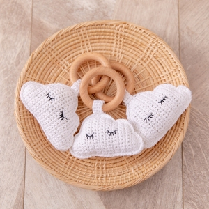 1pc Baby Rattles Crochet Could