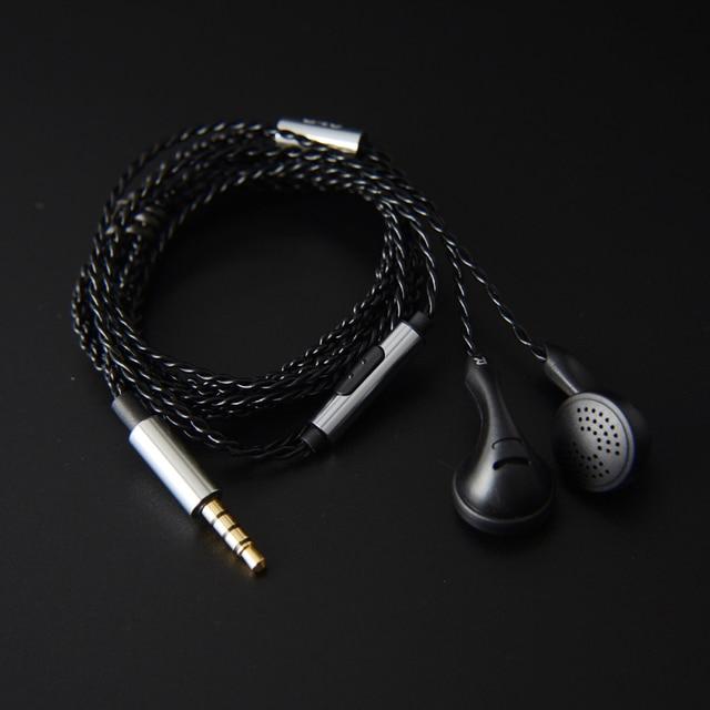NICEHCK B40 3.5mm HIFI PK écouteurs 14.8mm unité de pilote dynamique basse écouteur 32ohms ME80/EBX/EB2 VIDO PK1 PK2 PK3 SR2 BK Microphone