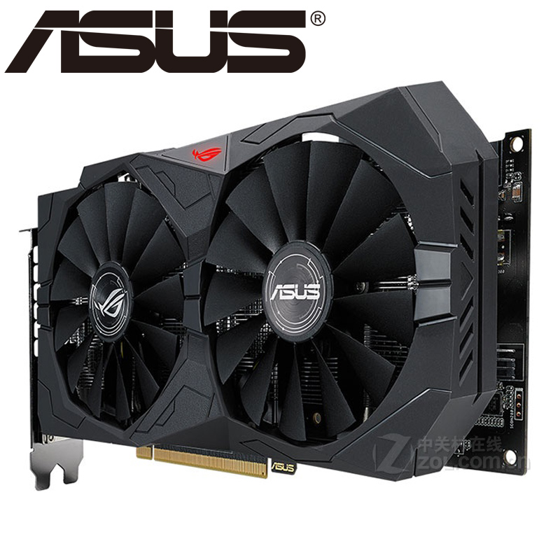 ASUS Video Graphics Card RX 570 With 4GB 256Bit GDDR5 for AMD RX 500 Series 2