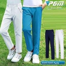 Pants Golf-Apparel Winter Trousers PGM Male Autumn Boys M-XXL Breathable Sports High-Elastic