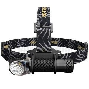 Image 1 - 新 NITECORE HC33 ヘッドランプ + コールドホワイト 1800LM CREE XHP35 HD LED ヘッドライト防水トーチキャンプ旅行送料無料