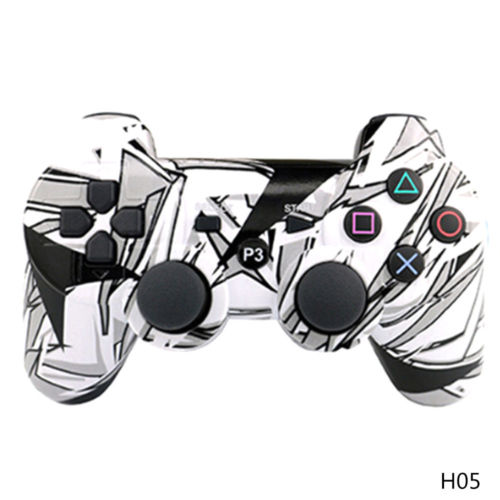 Bluetooth Wireless Controllers PS3 Camouflage Wireless Six-axis Vibration Charging Gamepad Computer Game Controller PS3 Joystick