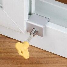 Stopper Cabinet-Locks Windows-Latch Sliding-Sash Aluminum Child Restaurant Home