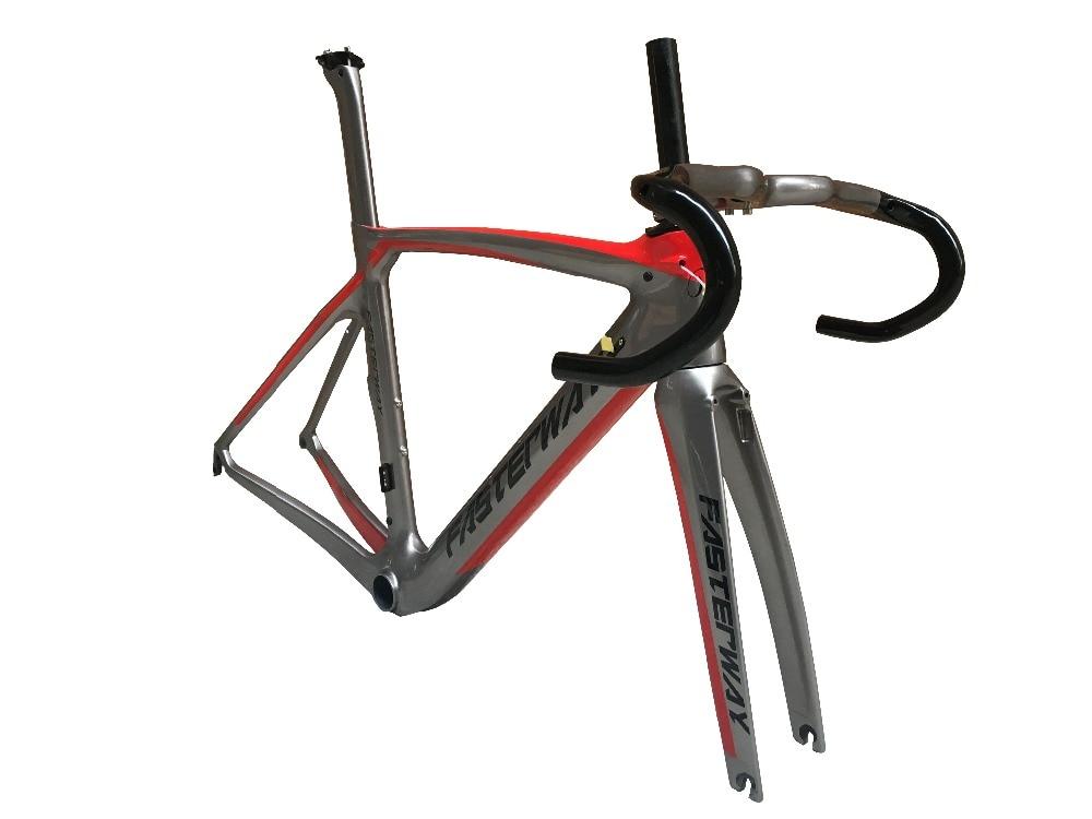 XR4 Disc Brake Carbon Road Frameset Super Light Men And Women Universal High Quality Frameset:frame+headset+seatpost+fork+clamp