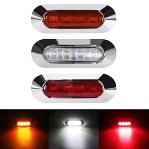 Задний фонарь для грузовика, 9-35 в, для автомобиля, прицепа, фургона, Фонарь 24 В, 12 В, предупреждение о габаритной лампе