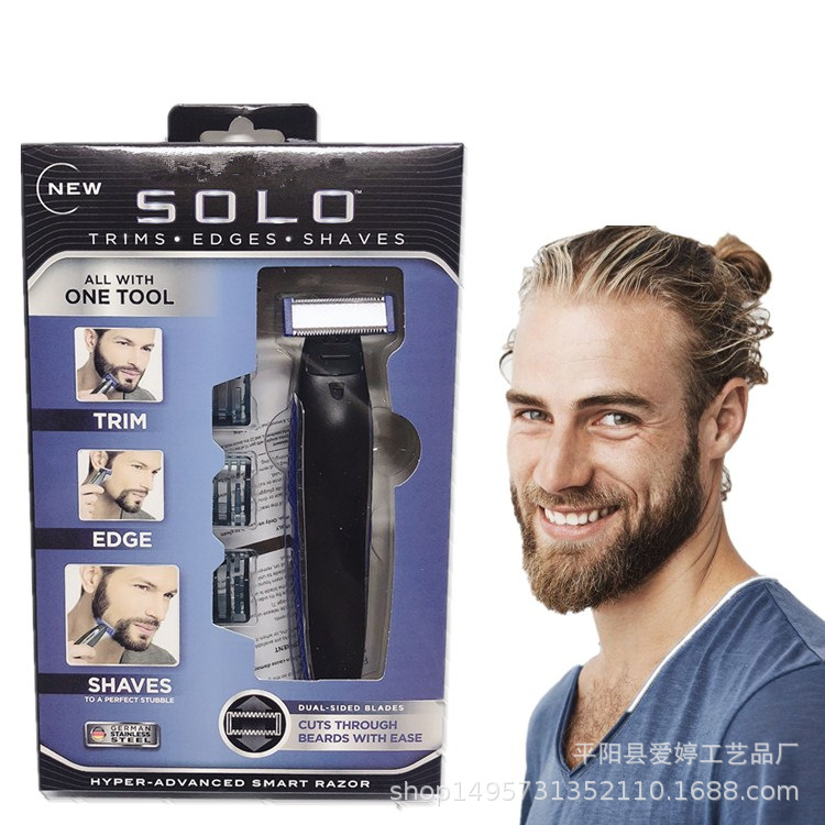 New Style Microtouch SOLO Shaver Men Electric Shaver Rechargeable Lady Shaver