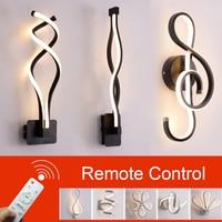 현대 노르딕 LED 벽 조명 침실 LED 벽 램프 거실 벽 조명 실내 램프 Sconce 빛 벽 마운트 조명|LED 실내용 벽 램프|   -