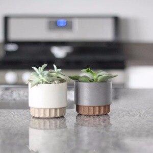 Image 3 - Cement flowerpot mold, flowerpot silicone mold Cement concrete mold