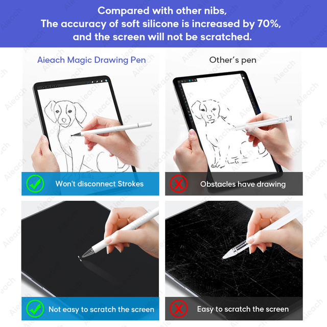 Universal Smartphone Pen For Stylus Android IOS Lenovo Xiaomi Samsung Tablet Pen Touch Screen Drawing Pen For Stylus iPad iPhone 4