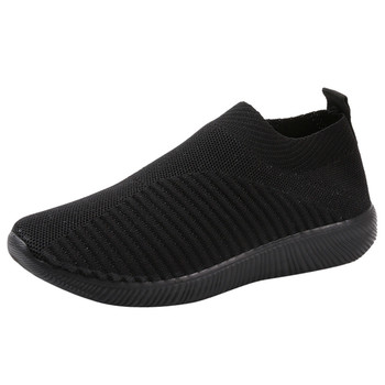 Women's Outdoor Mesh Shoes Casual Non-slip Comfortable Flat Running Sneaker Cover Penetrating Low-top Shoes 8