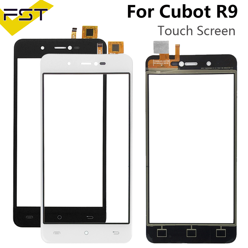 For Cubot R9 Touch Panel Touch Screen Digitizer Replacement For Cubot R9 Glass Sensor With Tools+Adhesive