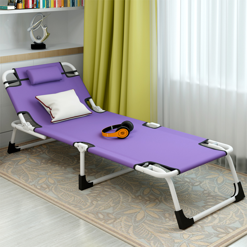 Folding Bed Single Bed Siesta Bed Office Recliner Siesta Bed Simple Escort Bed Camp Bed Couch