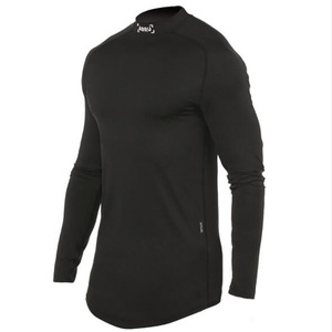 2020 Fitness T Shirt Men Long Sleeve Sports Top Running T-shirt Workout Soccer Sweatshirt O-neck Sport Shirt Men(China)