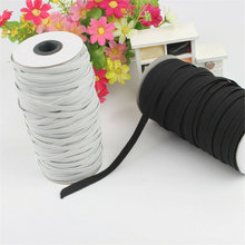 For Sewing Process High Elasticity Beaded Elastic Band Rope Knitting Spool Cut At Will 180M Long For Decorative Belt Lace TP899(China)