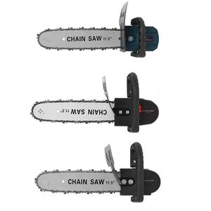 "Image 1 - 11.5 ""Chainsawเปลี่ยน100 125 150มุมไฟฟ้าอุตสาหกรรมขัดดัดแปลงChainsaw Stand Converter DIYเครื่องมือ"