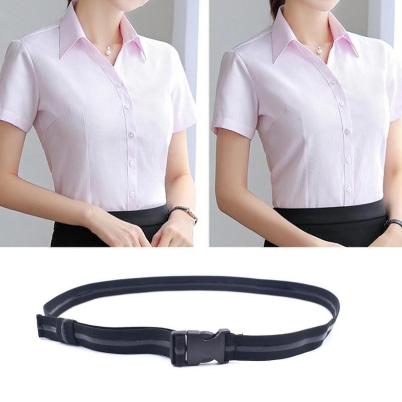 Shirt Holder Adjustable Shirt-stay Best Shirt Stays For Men Tuck It Belt For Women Work Interview Wearing Clothes Accessories