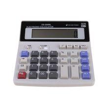 Calculators Scientific Big-Button Lcd-Display Desktop Dual-Power 12-Digit Electronics