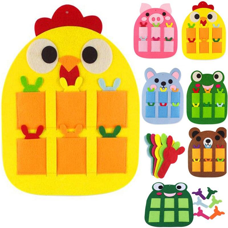 Children's Knitting Toys Kindergarten Teaching Digital Teaching Aids Children's Environmental Protection Non-pollution Toys