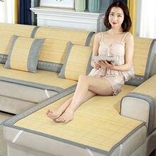 Summer ice mat sofa covers for living room set slipcovers corner