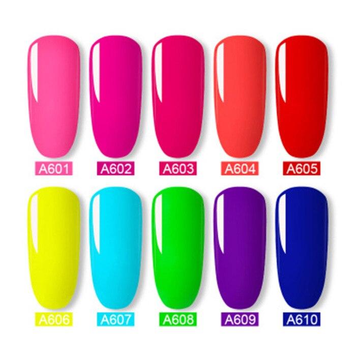 12 garrafas conjunto de cor de néon