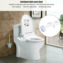 Bidet Fresh Water Spray Mechanical Bidet Toilet Seat Attachment Non-Electric 1/2 non electric bidet toilet attachment fresh water mechanical sprayer ass washer implement simple clean body irrigador orr