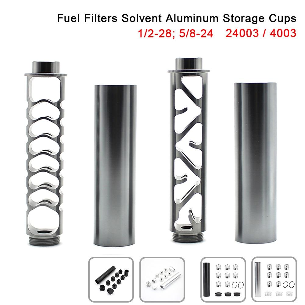 R-EP 알루미늄 솔벤트 트랩 1/2-28 5/8-24 napa 4003 wix 24003 블랙 그레이 용 연료 필터
