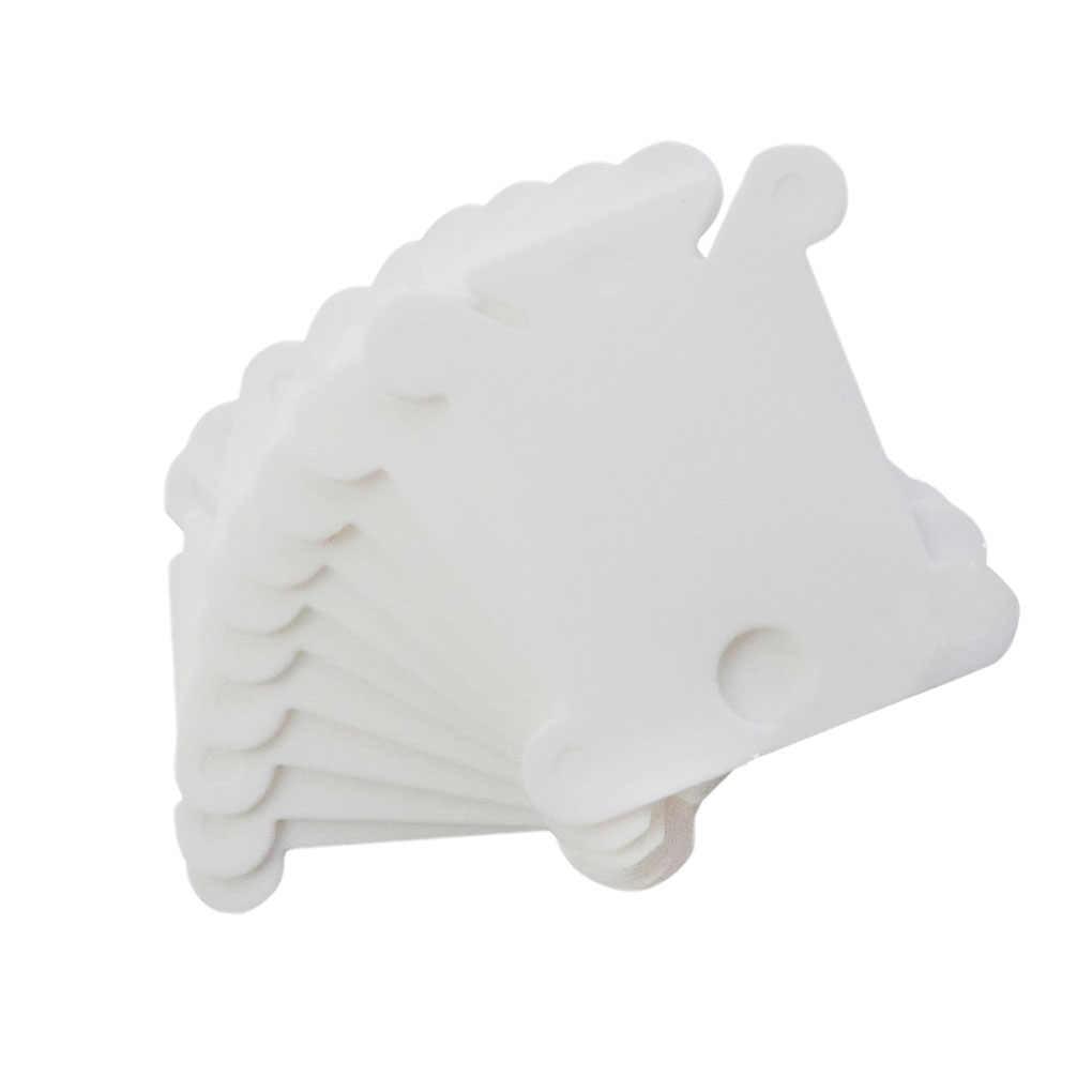 20/50/100/120 Uds hilo de bordar bobinas de hilo de Cruz soporte plástico de almacenamiento hilo de coser tarjeta kit para manualidades