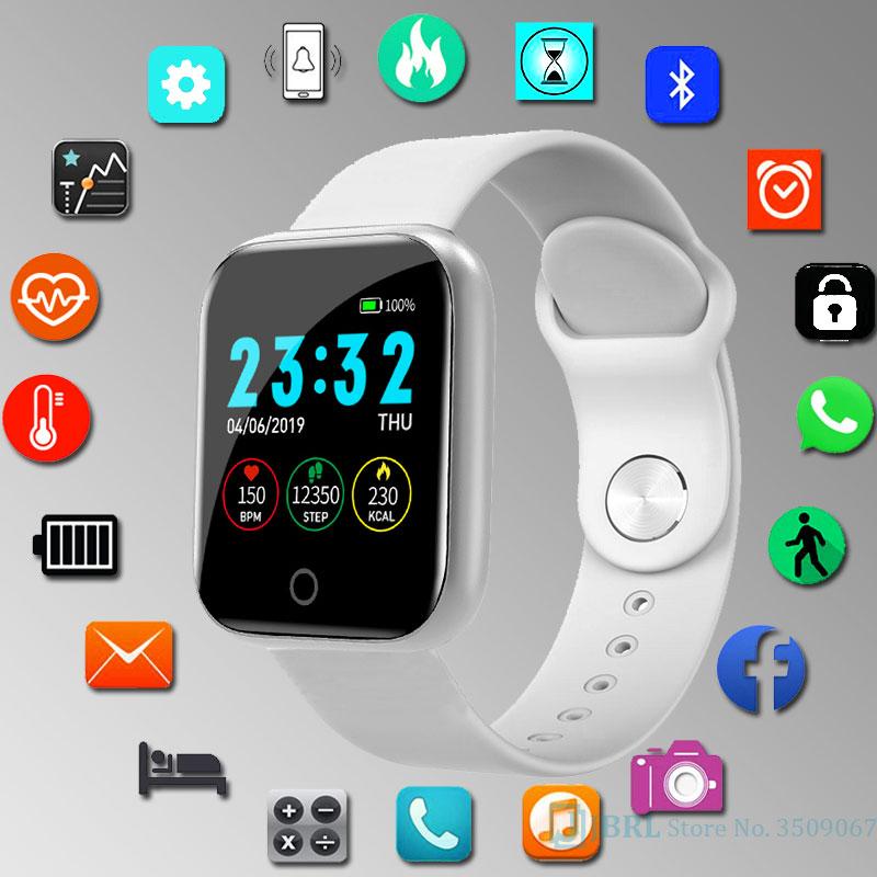 New Smart Watch Kids Children Smartwatch For Girls Boys Electronic Smart Clock Students Child Sport Smart-watch Aged 3-18 Year
