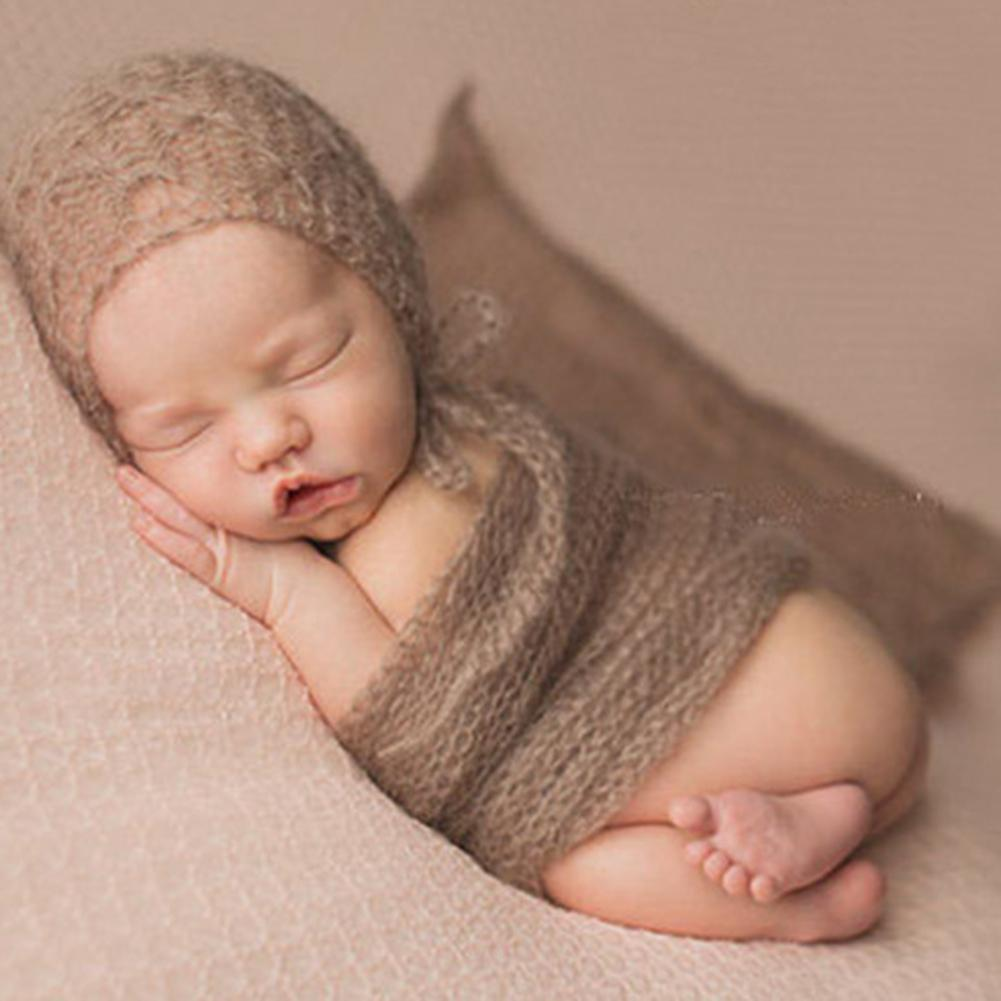 Stretch Newborn Photography Wraps Swaddle Baby Photo Props Photography Blankets