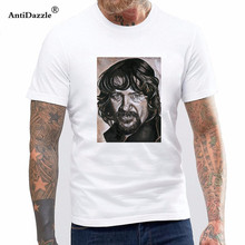 Antidazzle T Shirt Hot Topic Men Short Sleeve Authentic Waylon Jennings The Original Outlaw Photo Slim-fit T-shirt S-3xl New(China)