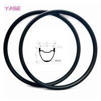 YASE 29er AM carbon mtb disc rim 34x30mm symmetry tubeless bicycle wheel carbon disc mtb rims ERD 578mm 435g|Rims| |  -