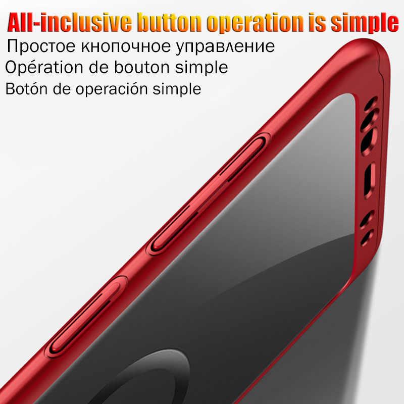 Cobertura completa 360 funda protectora para Samsung Galaxy S8 S10 S9 más S10E Lite caso S7 borde para A50 A70 A40 A30 a10 A60 con vidrio