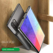 For Samsung Galaxy Note 10 Plus Battery Charger Case 6000mAh Ultra Thin Cases Power Bank Covers Cover