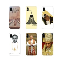The Young Pope Season For Apple iPhone X XR XS 11Pro MAX 4S 5S 5C SE 6S 7 8 Plus ipod touch 5 6 Accessories Phone Shell Covers(China)