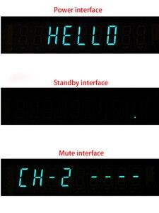 Image 3 - Panneau de Volume à distance à affichage Fluorescent sous vide VFD commutateur de Signal Audio à 4 voies sélecteur de commutateur carte de préamplificateur Audio HiFi