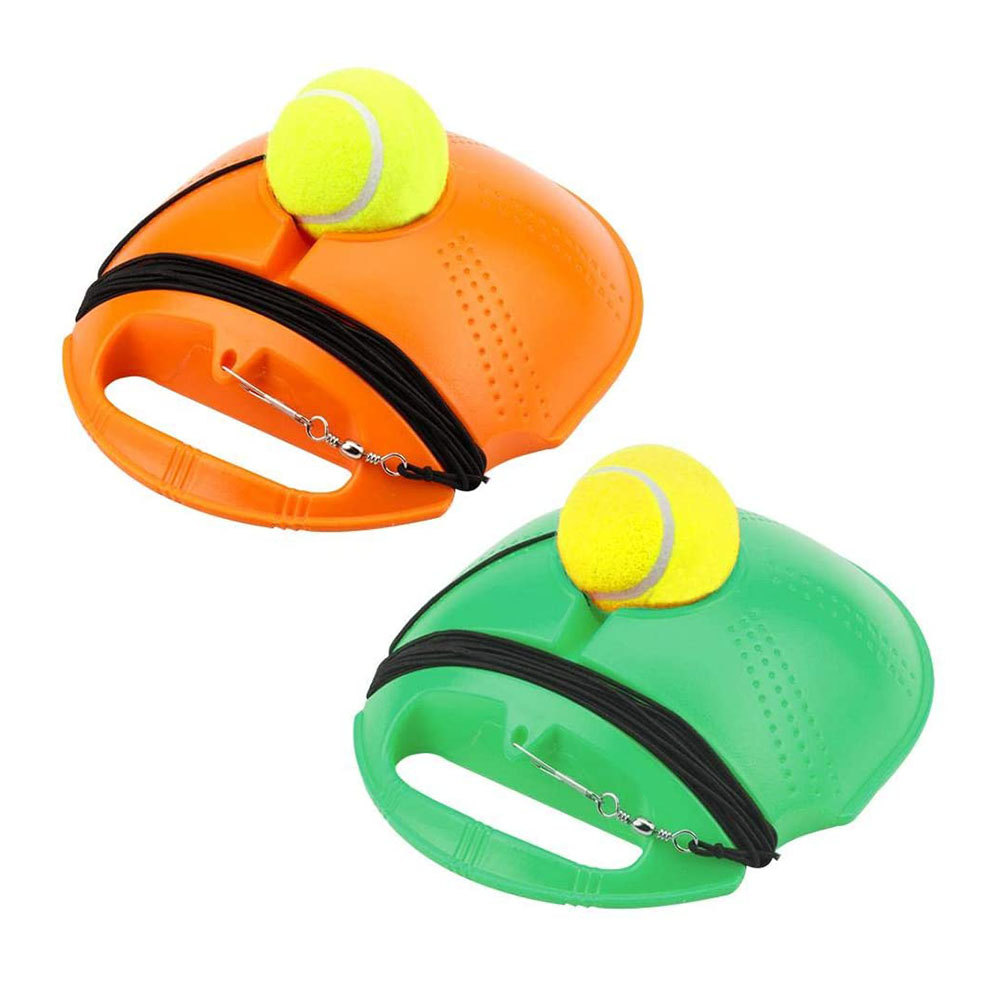 Tennis Trainer Rebound Ball Baseboard Exercise Outdoor Sports Beginner Sparring Device Set Tennis Balls Training Equipment