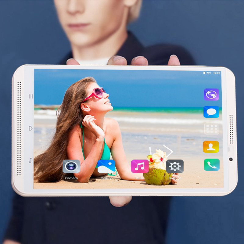 8 Polegada tablet pc Android 8.0 núcleo octa 1280*800 IPS RAM GB ROM 64 6GB Dual SIM cartão 2.4G/G WI-FI 8MP 5 Smart camera Telefone tablets