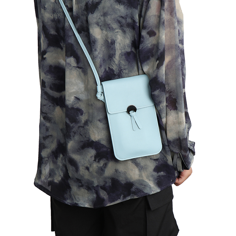 Women Touch Screen Bag Cell Phone Smartphone Wallet Leather Shoulder Strap Bag