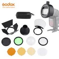 Godox S R1 Flash Speedlight Adapter AK R1 Adapter Ring for Godox TT685 V1 V860II TT350 TT600 Yongnuo Flash for Canon Nikon Sony