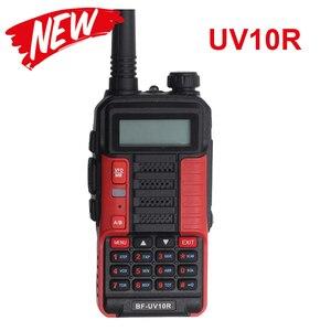Image 1 - Professional Walkie Talkie Baofeng UV 10R 10Km 128 ช่องVHF UHF Dual Band CB HamวิทยุBaofeng UV 10R