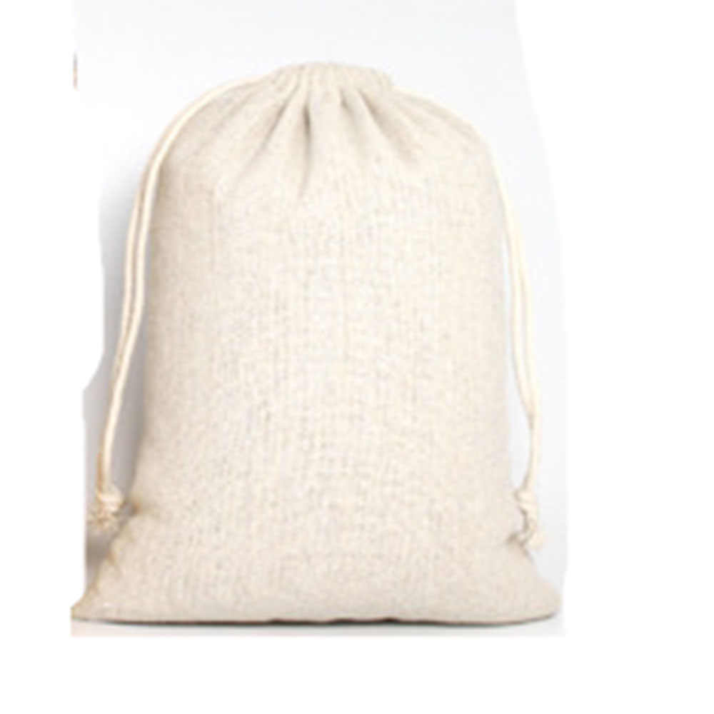 1PC โลโก้ Imprint Reusable ผ้าลินินช้อปปิ้งกระเป๋าผู้หญิงกระเป๋าเดินทางผู้ชาย Shopper Tote เก็บกระเป๋า (อย่างน้อย 1000pcs ขาย)