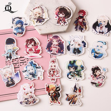 TQ 1 Pcs NASIB Grand Order Cosplay Lencana Saber Bros Pin Fate/Grand Order Fgo Archer Koleksi Lencana ransel Pakaian Z83(China)